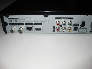 The back of the BD-D8500