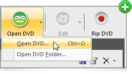 Open DVD for ripping