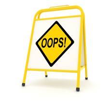 Oops-404 error