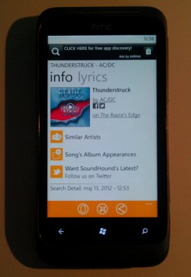 Soundhound app tells you what song is playing on radio for App that tells you what is in a picture