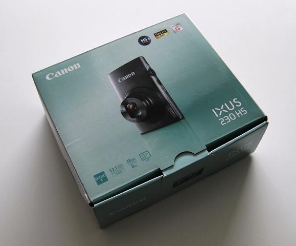 New Canon IXUS 230 HS