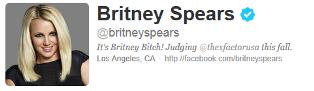 Britney Spears on Twitter