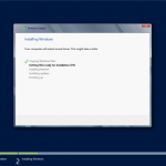 Installing Windows server 2012 part2
