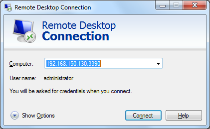 Remote Desktop Custom Port
