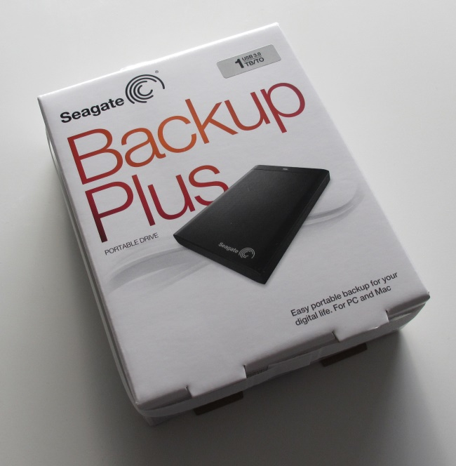Seagate Backup Plus Package