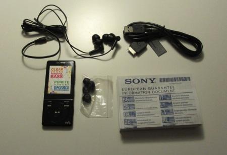 The package of Sony Walkman