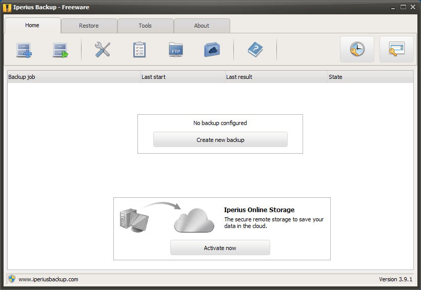Iperius Backup Software