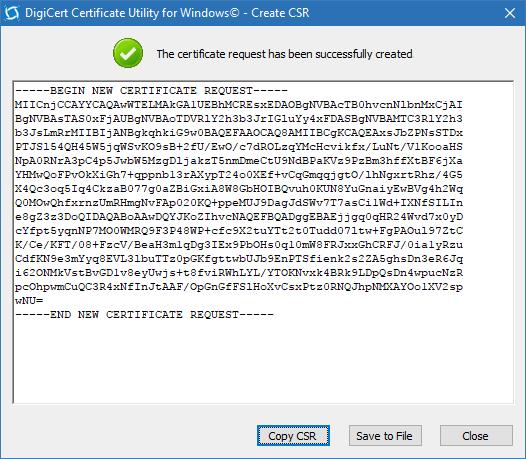 digicert utility download